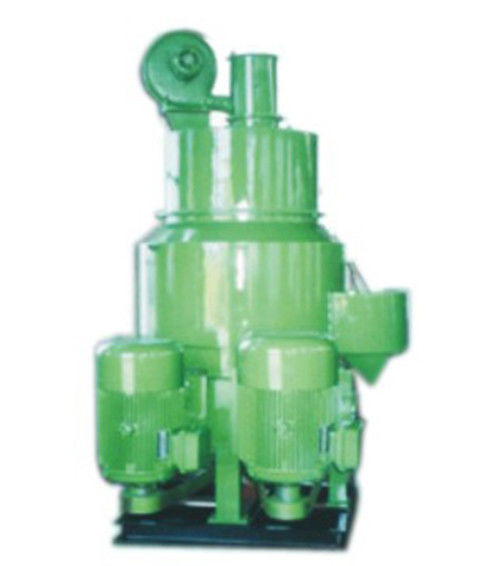 Green Color Coated Sand Mixer Machine Reasonable Structure Convenient Maintenance