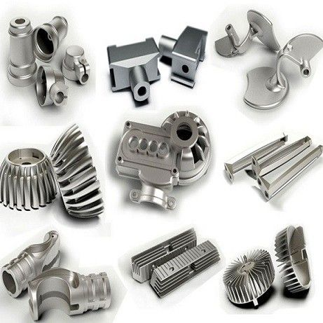 Metal Aluminum Sand Casting Parts With Drawings , Standard Mechanical Components